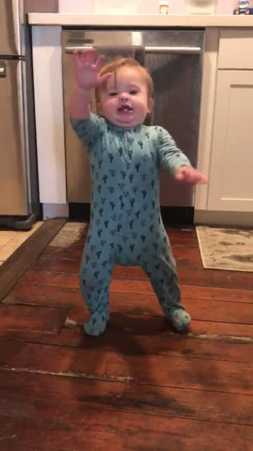 baby takes first steps at home (audio) - occurrence stock videos & royalty-free footage