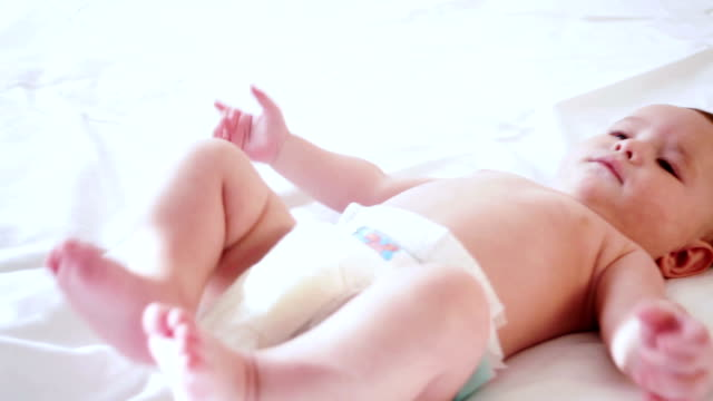baby - baby blanket stock videos and b-roll footage