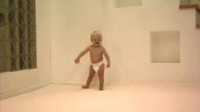baby walking - one baby boy only stock videos & royalty-free footage