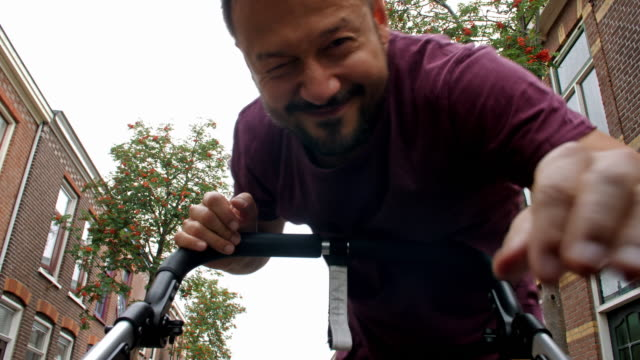 4k: pov baby with father - pushchair stock videos and b-roll footage