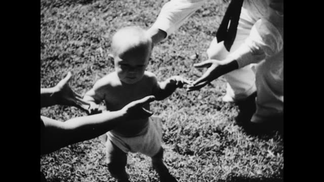 Baby's first steps on January 01 1939