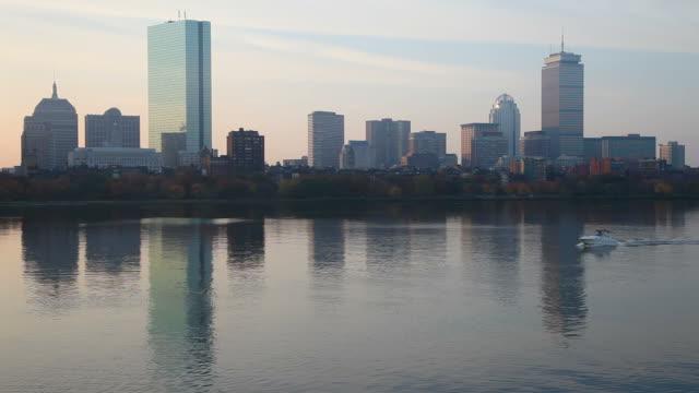 back bay, boston - back bay boston stock videos & royalty-free footage