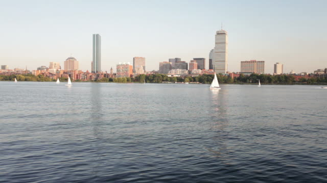 back bay in boston - back bay boston stock videos & royalty-free footage