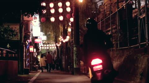 back road in shibuya,tokyo,japan. - 路地点の映像素材/bロール