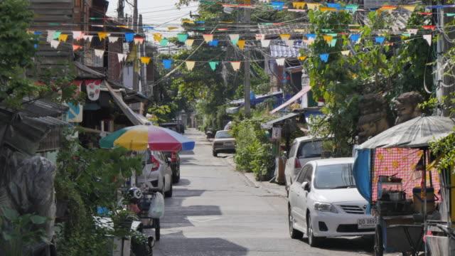Back street near Riverside Temple of Wat Arun (Temple of Dawn), Bangkok, Thailand, Southeast Asia, Asia