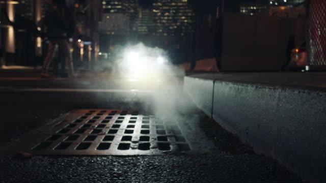 back street - sidewalk gutter stock videos & royalty-free footage