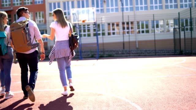 vidéos et rushes de retour à l'école - reprise des cours