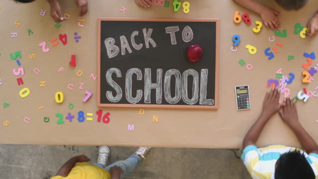 back to school - capital letter stock videos & royalty-free footage