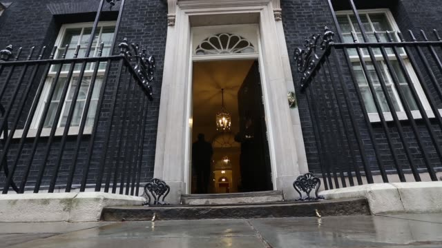 number 10 downing street - downing street stock videos & royalty-free footage