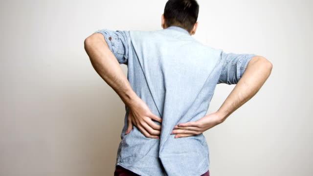 vídeos y material grabado en eventos de stock de de espalda  - herida