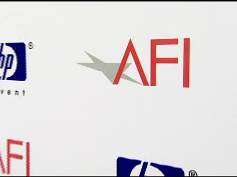 Backdrop at the 2007 AFI Awards Honors Creative Teams at Four Seasons Hotel in Los Angeles Calfironia on January 11 2008
