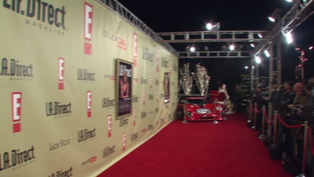 Backdrop at the LA Direct Magazine's Holiday Party at Les Deux in Los Angeles California on December 14 2007