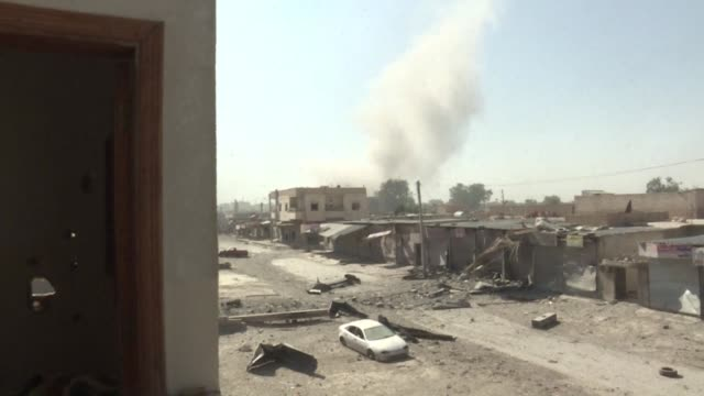 US backed Kurdish and Arab forces were trying Friday to hold newly gained positions in Raqa the main Syrian stronghold of the Islamic State group...