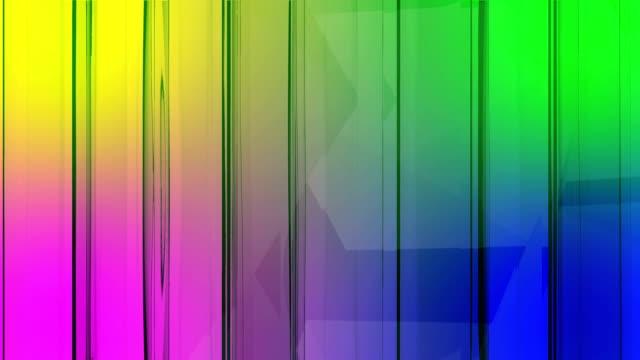 vídeos de stock e filmes b-roll de background 3d - cubo