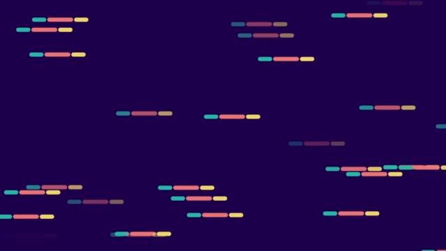 vídeos de stock, filmes e b-roll de sumário do fundo linha tracejada cor padrão - meio tom