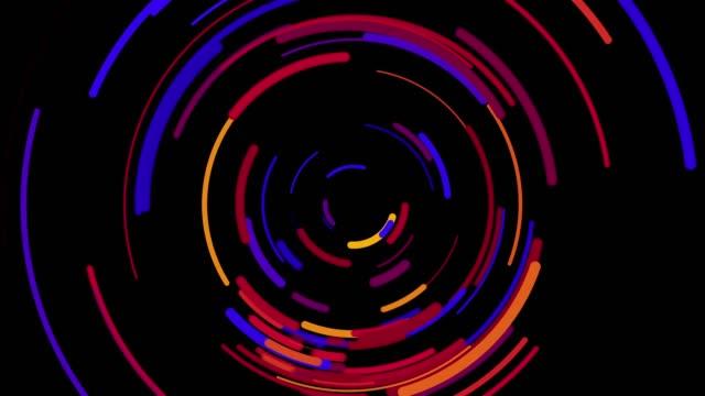 背景の抽象 - 立方体点の映像素材/bロール