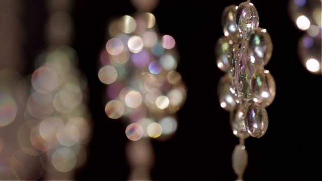 background bead curtain moving running focus - beaded curtain stock videos & royalty-free footage
