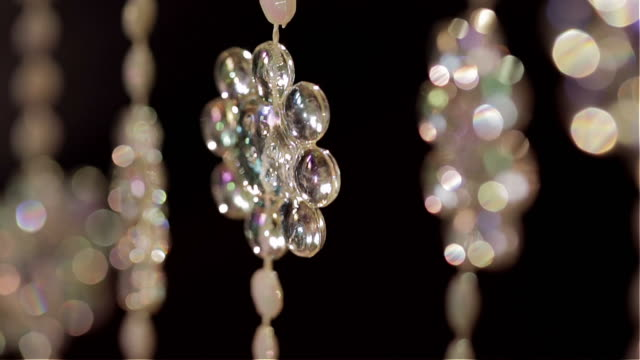 background bead curtain moving slowly - beaded curtain stock videos & royalty-free footage