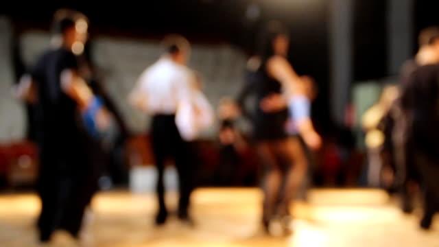 background - dance school - ballroom dancing stock videos & royalty-free footage
