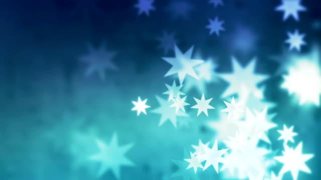 Achtergrond decoratie met sterren lus