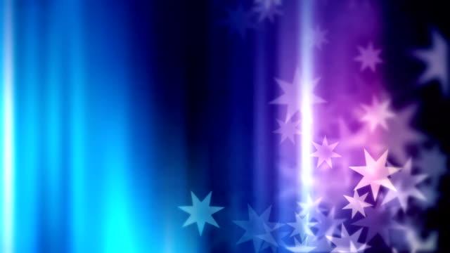stockvideo's en b-roll-footage met achtergrond decoratie met sterren lus - loop elementen