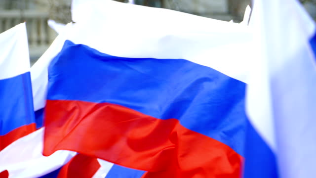 background - flags of russia - complaining stock videos & royalty-free footage