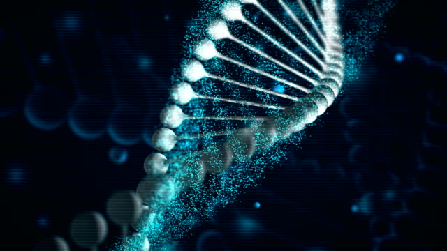4k dna background - loopable - conspiracy stock videos & royalty-free footage