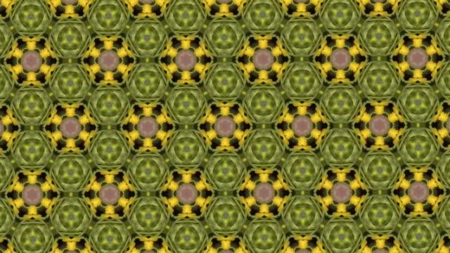 Hintergrund von farbenfrohen Kaleidoskop