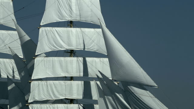 background - sails of an old ship - mast sailing stock videos & royalty-free footage