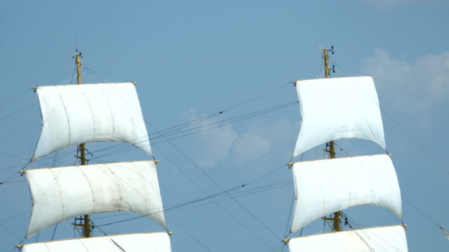background - tall ship sails - sail stock videos and b-roll footage
