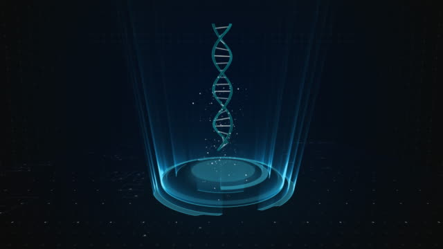 4k dna background - man made object stock videos & royalty-free footage