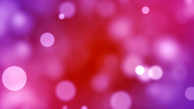 background with beautiful red bokeh circles - sundog stock videos & royalty-free footage