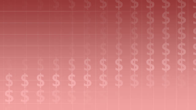 background with dollar-symbols - dollar symbol stock videos & royalty-free footage