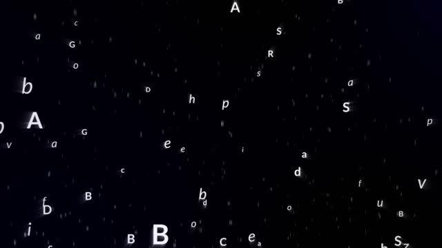 background with letters (loopable) - the alphabet stock videos & royalty-free footage