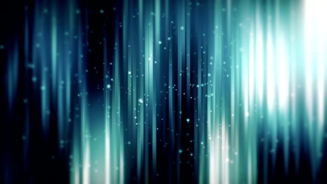 Achtergrond met glimmende lijnen lus