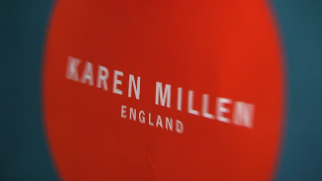 backstage at fashion show at the karen millen england flagship boutique launch and fashion show hosted by marylouise parker at karen millen england... - flagship store stock videos and b-roll footage