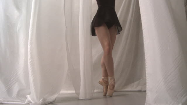 backstage ballet - low section stock videos & royalty-free footage
