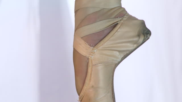 backstage ballet - ballet shoe stock videos and b-roll footage