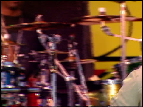 backstreet boys at the kiisfm's wango tango concert 2005 on may 14 2005 - 2005 stock-videos und b-roll-filmmaterial