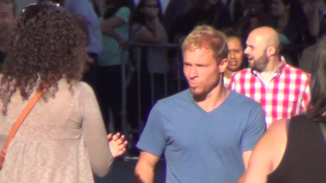 backstreet boys outside of jimmy kimmel live in hollywood at celebrity sightings in los angeles backstreet boys outside of jimmy kimmel live in on... - backstreet boys stock videos & royalty-free footage