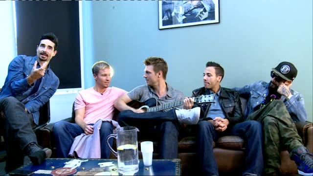 backstreet boys release new single backstreet boys perform song - backstreet boys stock videos & royalty-free footage