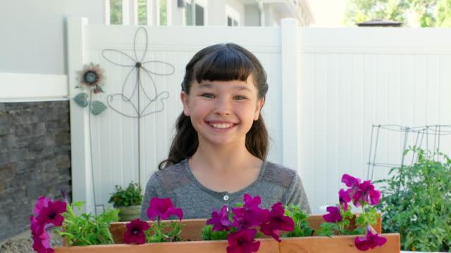backyard gardening - potting stock videos and b-roll footage