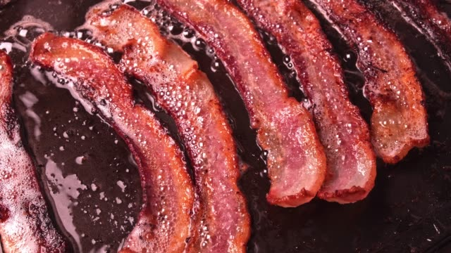bacon - bacon stock videos & royalty-free footage