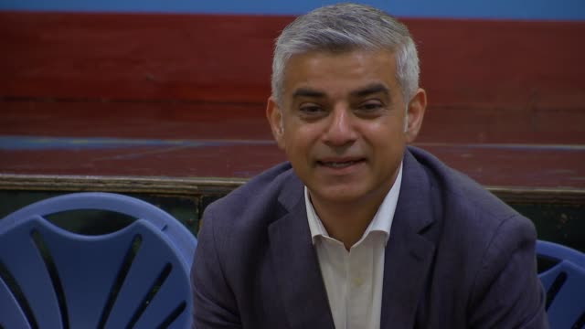 Bad air quality alleged as possible contribution to death of schoolgirl from an asthma attack Khan visit Sadiq Khan and Rosena AllinKhan answering...