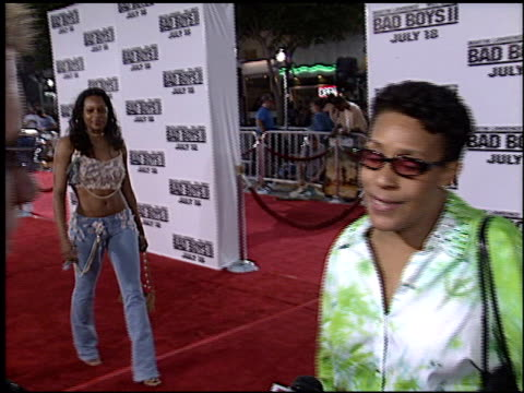 vídeos de stock, filmes e b-roll de bad boys ii premiere at the 'bad boys ii' premiere on july 9 2003 - bad boys ii