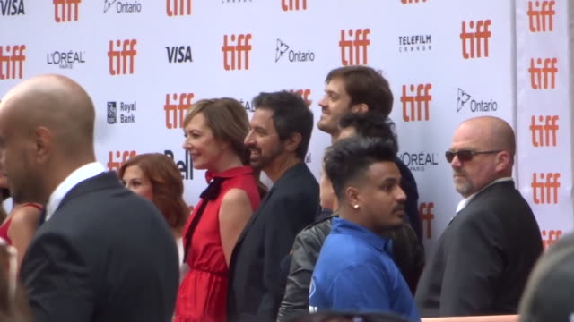 bad education cast at the toronto international film festival in toronto in celebrity sightings in toronto, - toronto international film festival stock videos & royalty-free footage