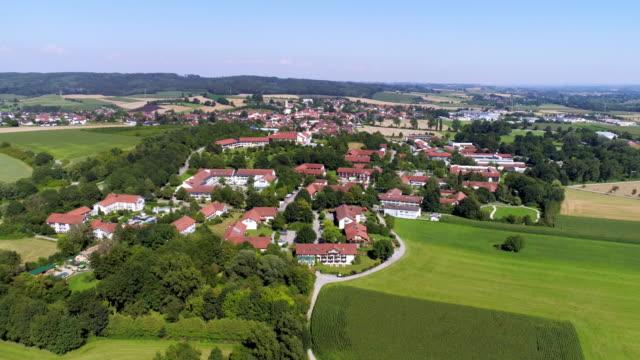 area termale di bad griesbach in baviera - germania video stock e b–roll