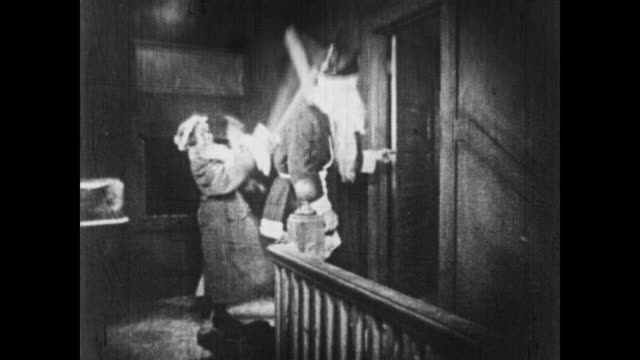 1926 a bad santa meets his match - kicking stock videos & royalty-free footage