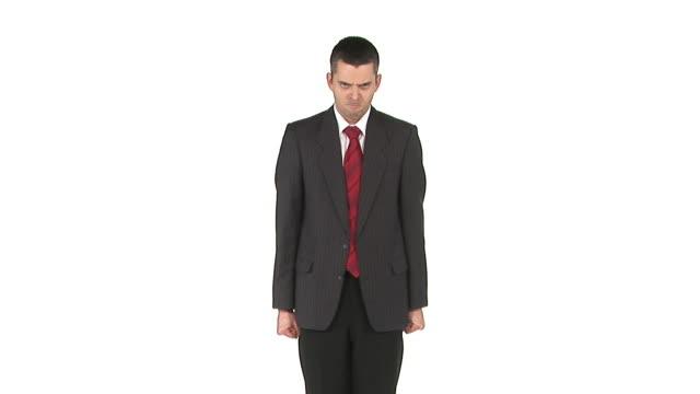 vídeos de stock e filmes b-roll de hd: bad moderar - camisa e gravata