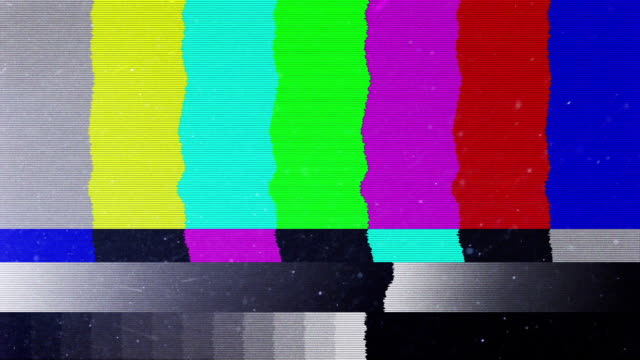 bad tv signal on the tv screen - bar drink establishment stock videos & royalty-free footage